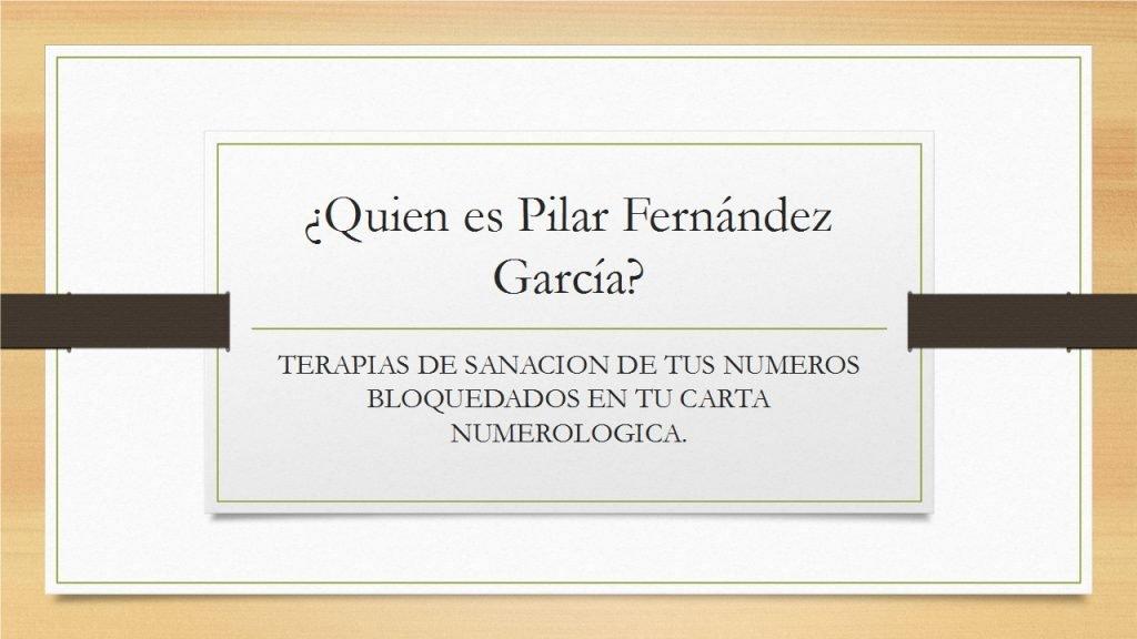 Quien es Pilar Fernandez