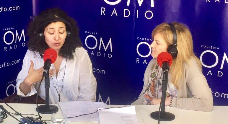 Pilar Fernández en OM Radio