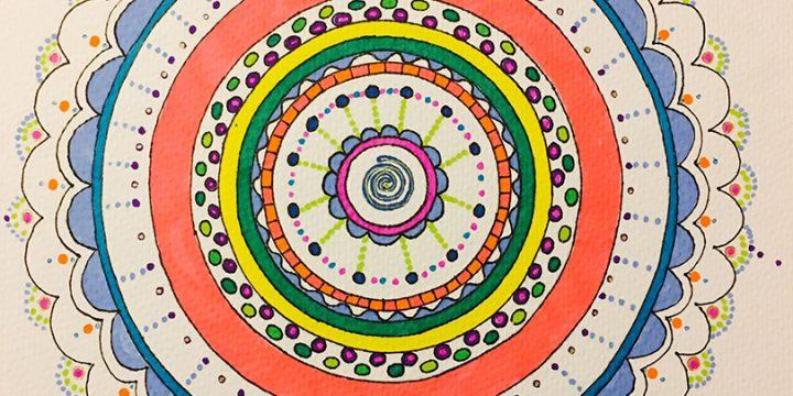 Pon en tu vida un Mandala de color