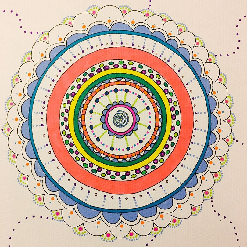 mandala de color