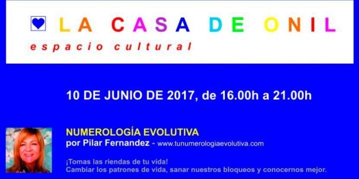 Nueva charla de Numerología Evolutiva el 10 de junio ¿te animas?