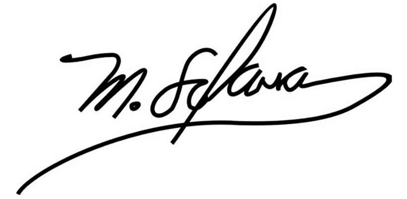relación entre la firma y el destino
