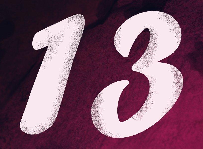número 13 en numerología