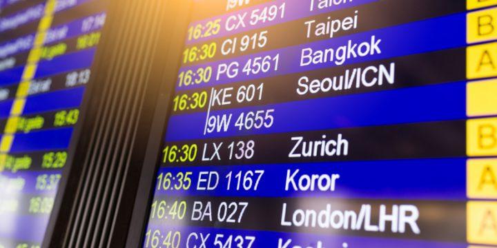 Qué significan los números de los vuelos que vas a tomar